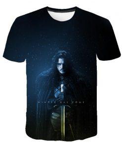 2020 Game Of Thrones Night King T Shirt 2019 New streetwear men s short sleeved T 2