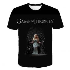 2020 Game Of Thrones Night King T Shirt 2019 New streetwear men s short sleeved T