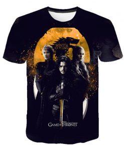 2020 Game Of Thrones Night King T Shirt 2019 New streetwear men s short sleeved T 3