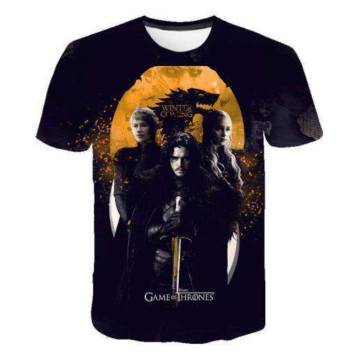 2020 Game Of Thrones Night King T Shirt 2019 New streetwear men s short sleeved T 3
