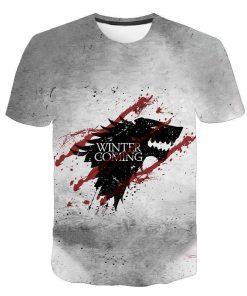 2020 Game Of Thrones Night King T Shirt 2019 New streetwear men s short sleeved T 4