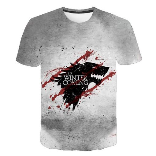2020 Game Of Thrones Night King T Shirt 2019 New streetwear men s short sleeved T 4