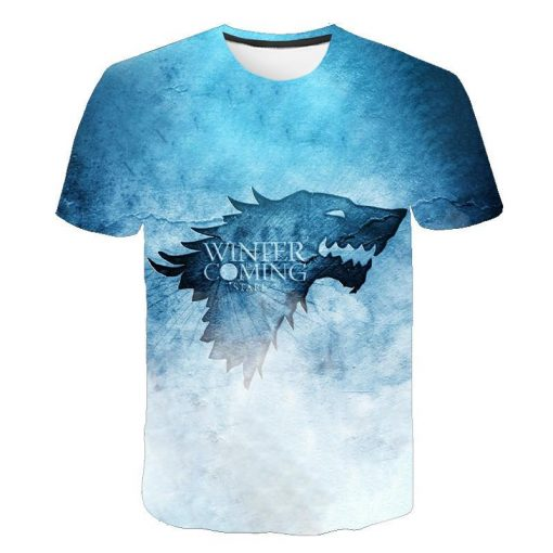 2020 Game Of Thrones Night King T Shirt 2019 New streetwear men s short sleeved T 5