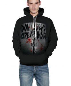2020 New Funny Walking Dead Christmas 3d Print Hoodies Sweatshirts Men women Graphics Jackets Winter Casual 2