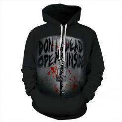 2020 New Funny Walking Dead Christmas 3d Print Hoodies Sweatshirts Men women Graphics Jackets Winter Casual