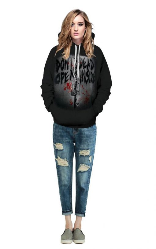2020 New Funny Walking Dead Christmas 3d Print Hoodies Sweatshirts Men women Graphics Jackets Winter Casual 3