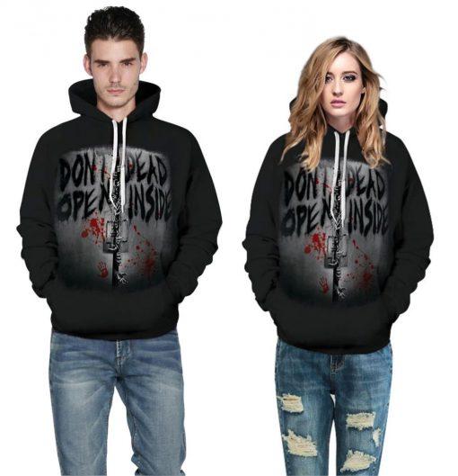 2020 New Funny Walking Dead Christmas 3d Print Hoodies Sweatshirts Men women Graphics Jackets Winter Casual 4