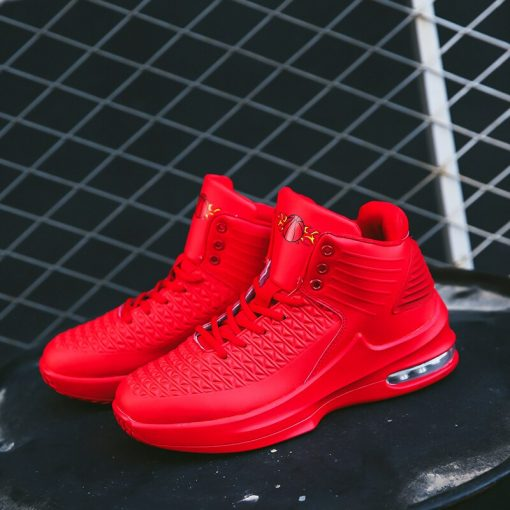 2020 New High top Men Basketball Shoes Classic Sports Man Sneakers Trainer Big Plus Size 36 1