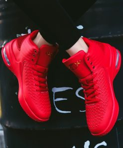 2020 New High top Men Basketball Shoes Classic Sports Man Sneakers Trainer Big Plus Size 36