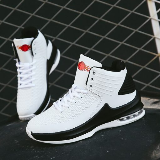 2020 New High top Men Basketball Shoes Classic Sports Man Sneakers Trainer Big Plus Size 36 4