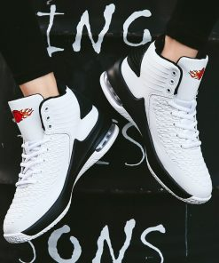 2020 New High top Men Basketball Shoes Classic Sports Man Sneakers Trainer Big Plus Size 36 5