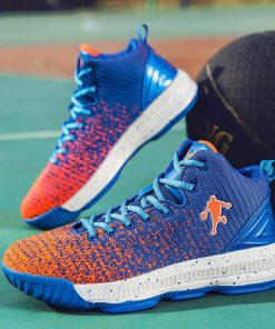 2020 New Men Basketball Shoes Men High Top Athletic Shoes Sneakers Women Breathable Lightweight Training Boots 3
