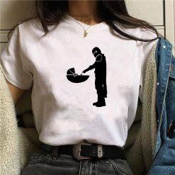 2020 Summer Baby Yoda Star Wars leisure tshirt Mandalorian T Shirt Short Sleeve Shirs Cotton Top