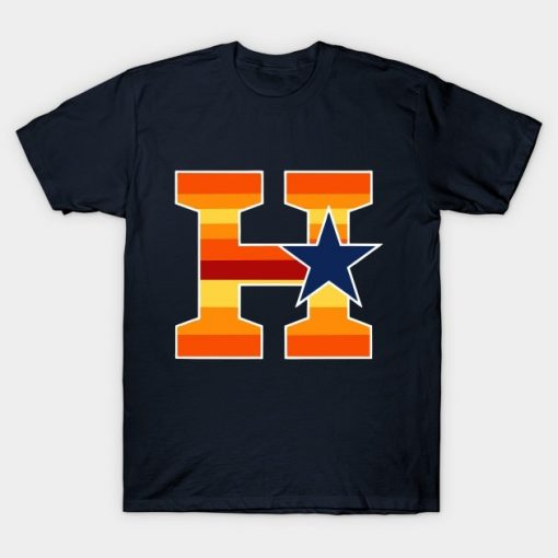 2020 Top Quality Men T shirt Astros Houston Baseball H Town Texas Tshirt Women T Shirt