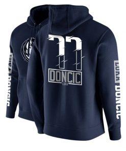 2020 new Sweatshirt sport men training basketball Tatum Luka Doncic jersey Wade Cotton plus velvet Street 3
