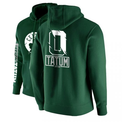 2020 new Sweatshirt sport men training basketball Tatum Luka Doncic jersey Wade Cotton plus velvet Street 4