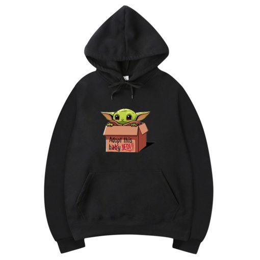 3D Print Shirt The Mandalorian Hoodie Baby Yoda Hoodies Costume Cosplay