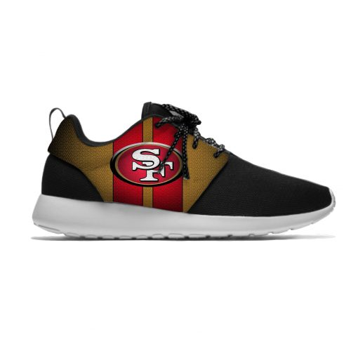 49ers Leisure Casual Sneakers San Francisco Football Fans Mens And Womens Breathable Lightweight Mesh Sport Running 1