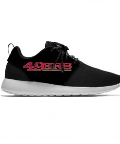 49ers Leisure Casual Sneakers San Francisco Football Fans Mens And Womens Breathable Lightweight Mesh Sport Running 4