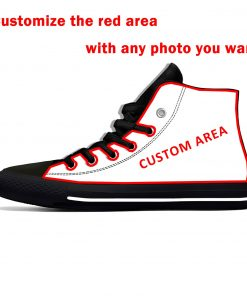 Alvin Kamara New Orleans Football Star Fans Fashion Lightweight High Top Canvas Shoes Men Women Casual 4