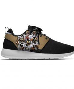 Alvin Kamara New Orleans Football Star Fans Lightweight Sport Running Mesh Shoes Men Women Casual Breathable 2