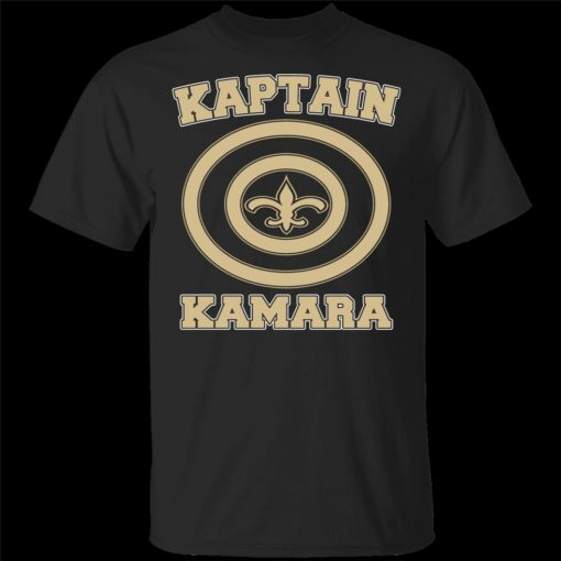 Alvin Kamara T Shirt Kaptain New Orleans Football Tee Shirt Short Sleeve S 3Xl Brand Clothing