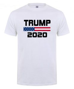 American Flag Keep America Great Donald Trump For President USA 2020 Republican T Shirt For Men 1
