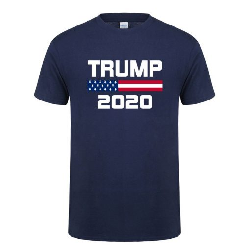 American Flag Keep America Great Donald Trump For President USA 2020 Republican T Shirt For Men
