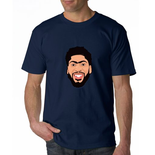 Anthony Davis Cartoon Avatar Basketball Jersey Tee Shirts Los Angeles Lakers streetwear tshirt
