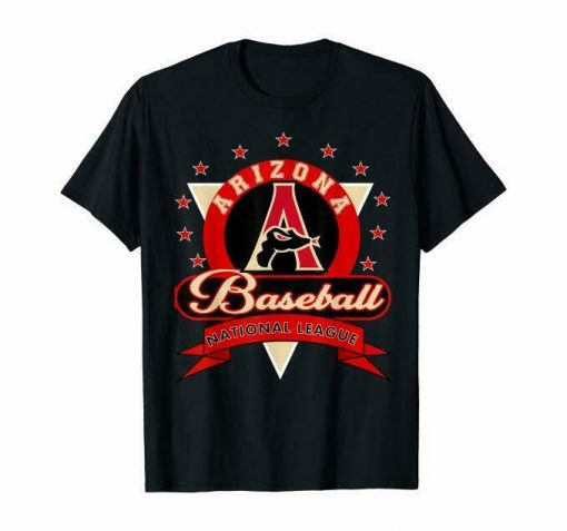 Arizona 1998 Diamondback Baseball T Shirt