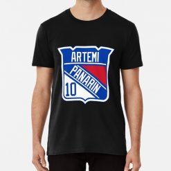 Artemi Panarin Rangers Logo T Shirt Artemi Panarin Panarin Artemi Ranger New York Ny Nyr 72