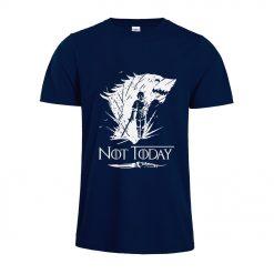 Arya Stark T Shirt Game Of Thrones printing Not Today Tshirt Leisure Comfortable Tops 3