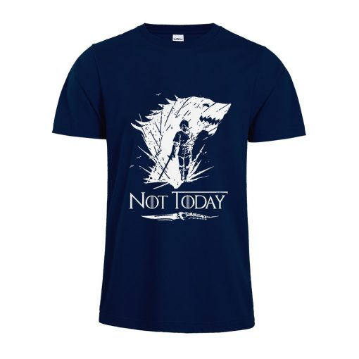 Arya Stark T Shirt Game Of Thrones printing Not Today Tshirt Leisure Comfortable Tops 3