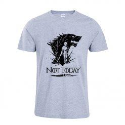 Arya Stark T Shirt Game Of Thrones printing Not Today Tshirt Leisure Comfortable Tops 6