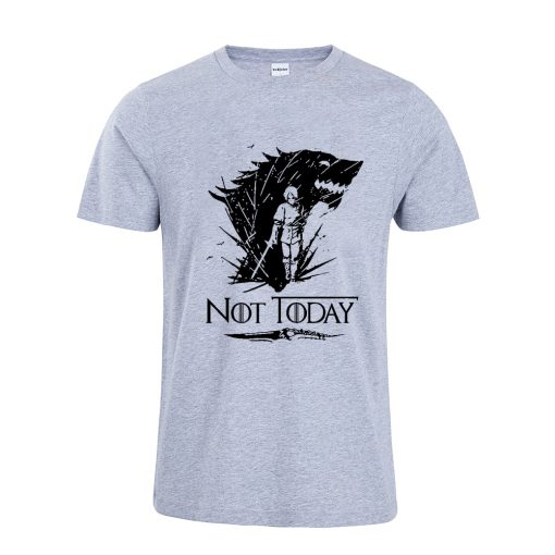 Arya Stark T Shirt Game Of Thrones printing Not Today Tshirt Leisure Comfortable Tops 6
