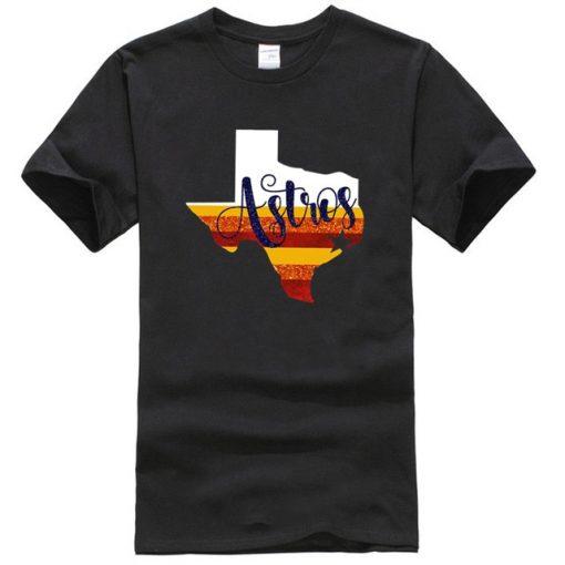 Astros T shirt Baseball Tee Womens Astros Shirt Houston Shirt Women Houston Top Womens Astros Tees