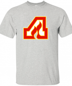 Atlanta Flames Hockey Hawks Braves Retro Logo G200 glidan Ultra Cotton T ShTops wholesale Tee custom