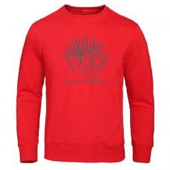 Autumn Warm brand Clothing Game of Thrones Hoodies Men print Sweatshirt fashion Pullover winter is coming 1