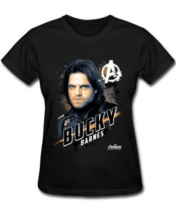 Avengers Bucky Women s Tshirts Top Quality Crew Neck Cotton Tops Tees 3D Printed Clothing Shirt 1