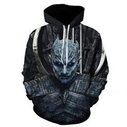BIAOLUN 2019 Autumn Game of Thrones Cosplay Costume Hoodies Sweatshirts Loose Fit Casual Men Women Coat