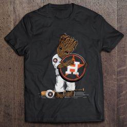 Baby Hug Houston Streetwear Harajuku 100 Cotton Men S Tshirt Astros Logo Tshirts