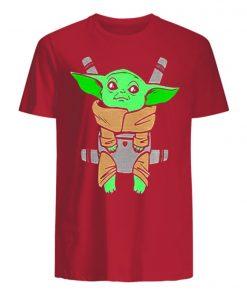 Baby Yoda Carrier Back Men s T Shirt 1
