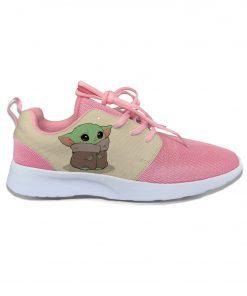 Baby Yoda Mandalorian Star Wars Cartoon Cute Vogue Sport Running Shoes Lightweight Breathable 3D Print Girl 1