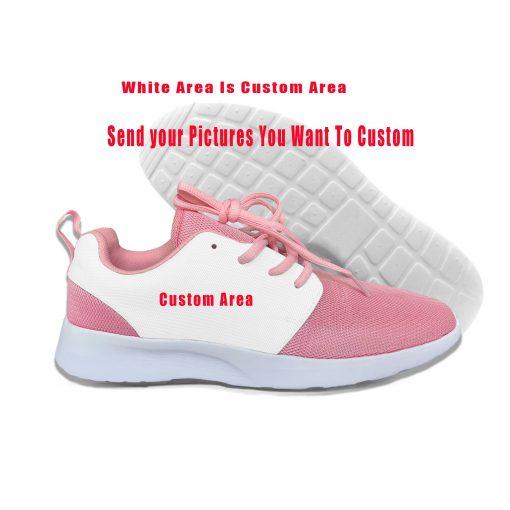Baby Yoda Mandalorian Star Wars Cartoon Cute Vogue Sport Running Shoes Lightweight Breathable 3D Print Girl 5