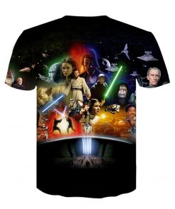 Baby Yoda The Mandalorian t shirt 3D printed Funny Tee Shirt Short Sleeve Star Wars men 4