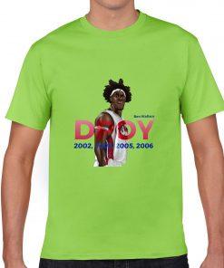 Ben Wallace DPOY Basketball Jersey Tee Shirts Detroit Pistons Superstar streetwear tshirt