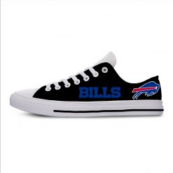 Bills Classic Canvas Lightweight Fashion Men Women Casual Shoes Breathable Flat Leisure Sneakers For Buffalo Football