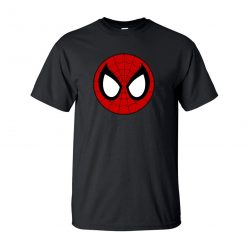 Black Spider Man T Shirt Spiderman Tshirt Men Peter Parker Superhero Tshirts T Shirts Cotton Short