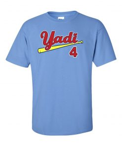 Blue Yadi Molina St Louis Cardinals Yadi T Shirt