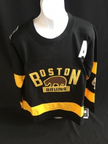 Boston Bruins 4 Bobby Orr Ice Hockey Jersey Mens Embroidery Stitched Customize any number and name 2